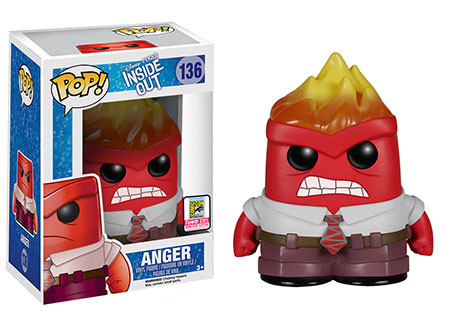 Pop! Disney/Pixar: Inside Out – Flamehead Anger
