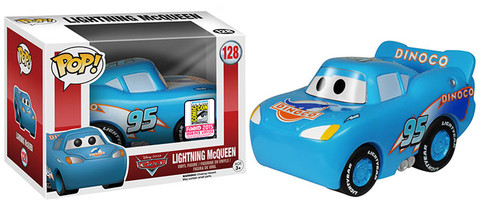 Pop! Disney: Cars - Dinoco Lightning McQueen