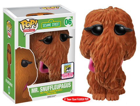 "Pop! TV: Sesame Street - 6"" Flocked Mr. Snuffleupagus"