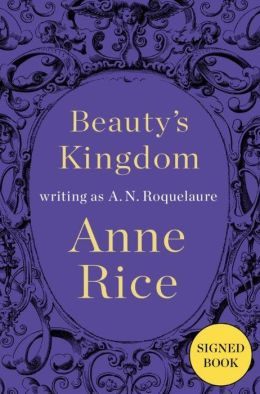 Anne Rice signed autograph book