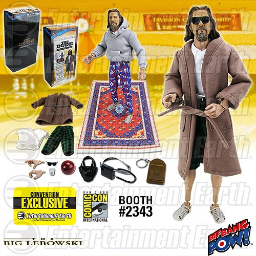 The Big Lebowski The Dude Deluxe 12-Inch Action Figure - Convention Exclusive - Free Shipping