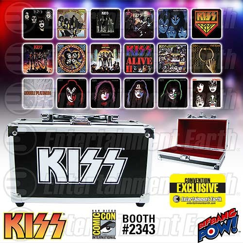 KISS Coasters SDCC Exclusive