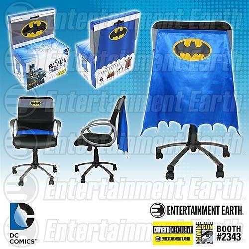 batman chair cape sdcc exclusive