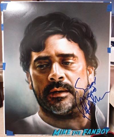 Jeffrey Dean Morgan signed autograph supernatural art print