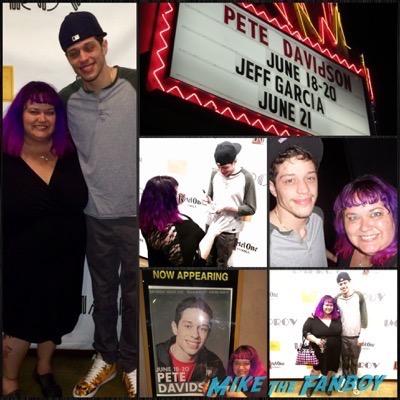 pete davidson SAturday night live star selfie 4