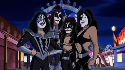 Scooby-Doo and KISS-Rock and Roll Mystery