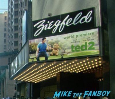 Ted 2 New York premiere mark wahlberg seth macfarlane 7