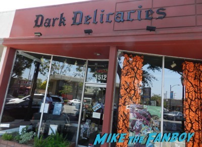 dark delicacies Ty Simpkins And Nick Robinson jurassic world poster signing autograph 1
