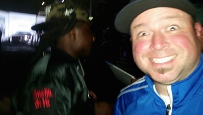 Wale photo flop WWE star signing autographs 2