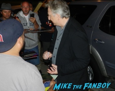 alan rickman signing autographs aero theater q and a 5