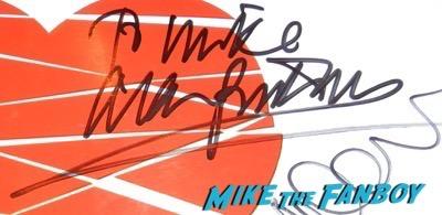 alan rickman signed autograph love actually uk quad poster