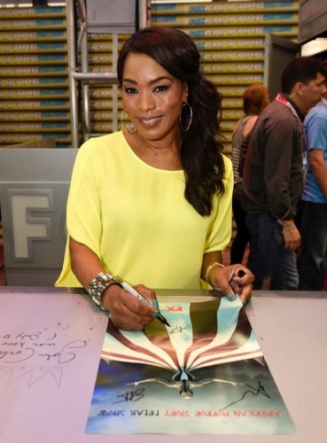 Angela Bassett at the 'American Horror Story' booth signing during Comic-Con International 2015 at the San Diego Convention Center on July 12, 2015 in San Diego, California. Cr: Alan Hess/PictureGroup/FX