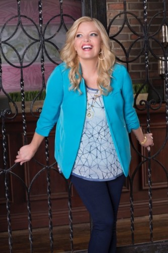 "BABY DADDY - ABC Family's ""Baby Daddy"" stars Melissa Peterman as Bonnie. (ABC Family/Craig Sjodin)"