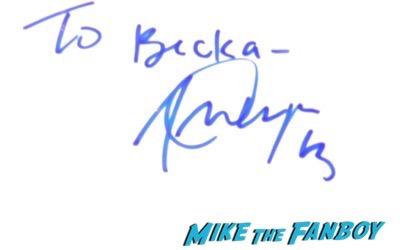 Alex Morgan autograph signed jimmy kimmel live