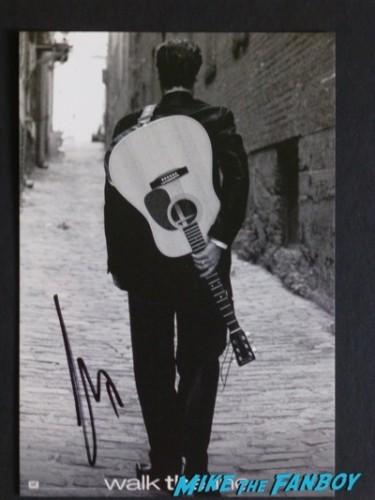 Joaquin Phoenix signed autograph walk the line photo