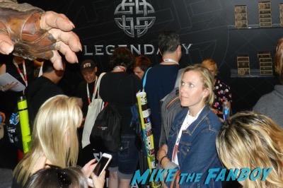 Krampus Autograph Signing SDCC 2015 Toni Collette 1
