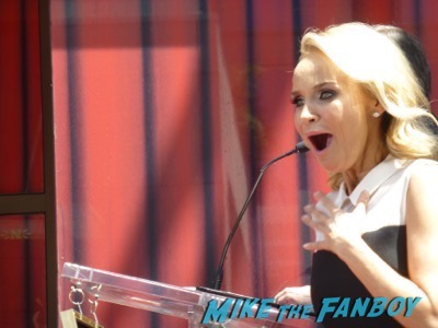 Kristin Chenoweth walk of fame star ceremony 3
