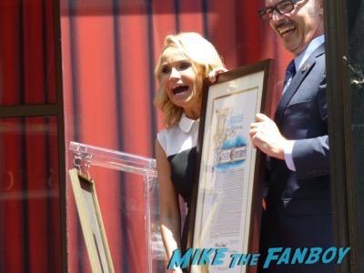 Kristin Chenoweth walk of fame star ceremony 8