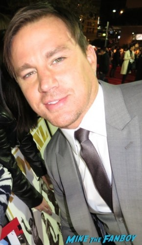 Magic Mike xxl australian premiere channing tatum 1