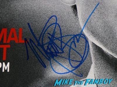 Matt Bomer signed autograph A Normal Heart Poster