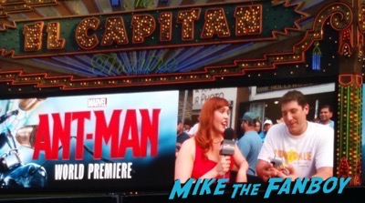 Ant man mike the fanboy marquee