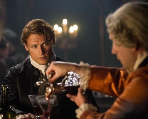 Outlander S2 Jamie Fraser (Sam Heughan)