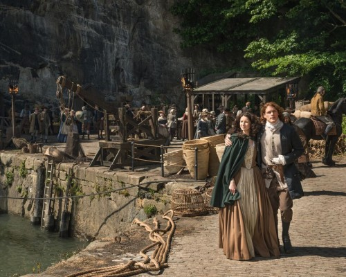 Outlander S2 Jamie and Claire (Sam and Caitriona)