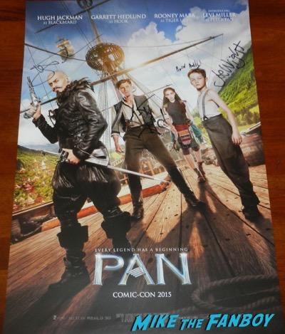 Pan SDCC Warner Bros signing Hugh Jackman 1