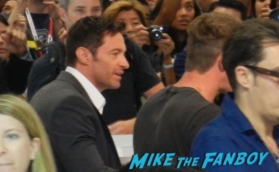 Pan SDCC Warner Bros signing Hugh Jackman 1