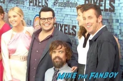 Pixels New York Movie premiere adam sandler 11