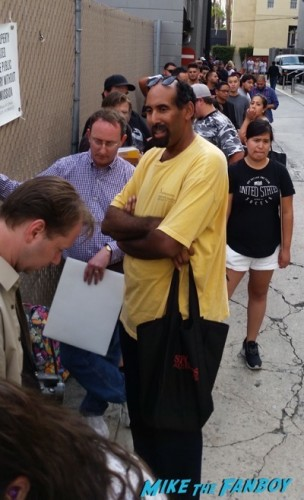 Ronda Rousey signing autograph jimmy kimmel live 2015 2