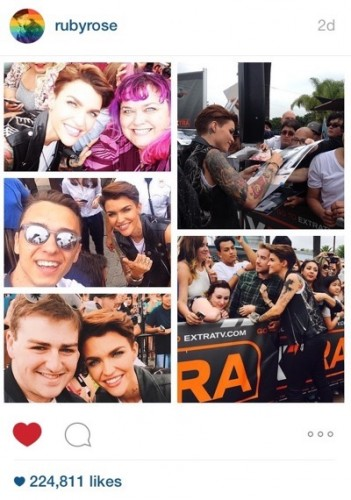 ruby rose extra fan photo