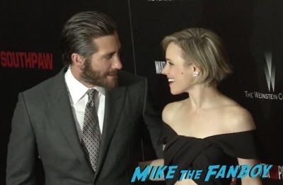 Southpaw new york movie premiere Jake Gyllenhaal rachel mcadams 1