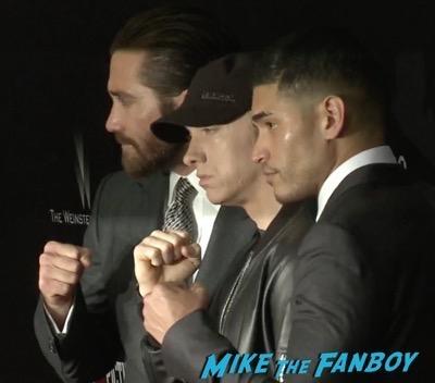 Southpaw new york movie premiere Jake Gyllenhaal rachel mcadams 5