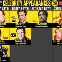 Entertainment Earth is heading to SDCC and we've shown you a whole bunch of the awesome exclusives that are available at the con. Now, Entertainment Earth has released their signing schedule for the con. They have some awesome celebrities at the show including William Shatner, Reeve Carney, Sam J. Jones, Kiss and more! For details head to the Entertainment Earth booth. The calendar is below!