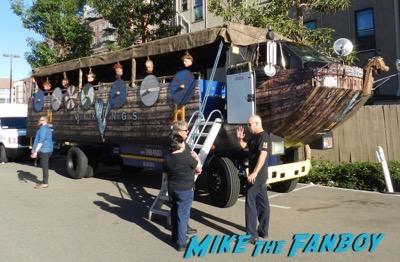 Vikings longboat cruise interviews SDCC 2015 1