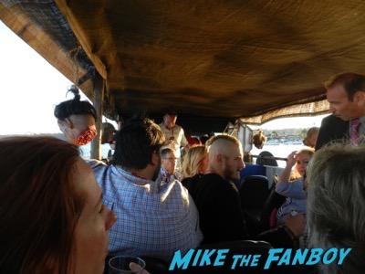 Vikings longboat cruise interviews SDCC 2015 16
