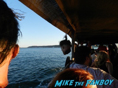 Vikings longboat cruise interviews SDCC 2015 23