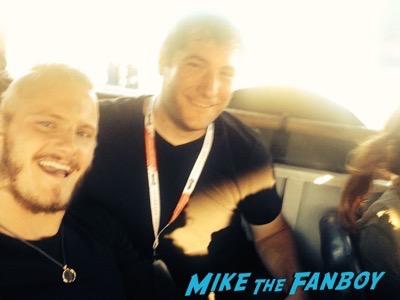 alexander ludwig selfie Vikings longboat cruise interviews SDCC 2015 22