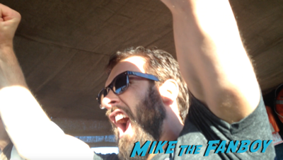 clive standen Vikings longboat cruise interviews SDCC 2015 30