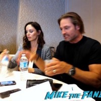 peter jacobson colony press room San Diego Comic Con josh holloway sarah wayne callies 6