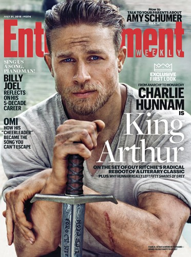 Charlie Hunnam king-arthur-ew-1374-cover