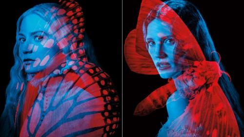 mia-wasikowska-jessica-chastain-crimson-peak-posters