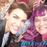 ruby rose signing autographs fan photo extra 1