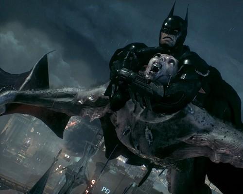1 - 8x10 - Batman-Arkham-Knight-Creature-of-the-Night-Most-Wanted-Man-Bat