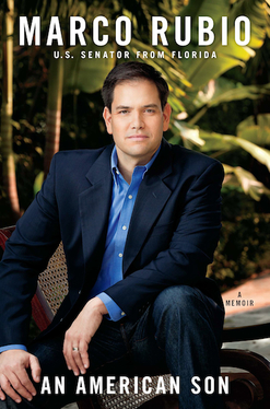 Marco Rubio Signed book