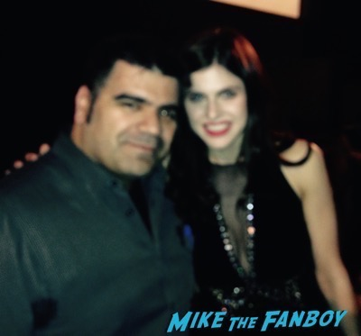 Alexandra Daddario fan photo flop signing autographs 1