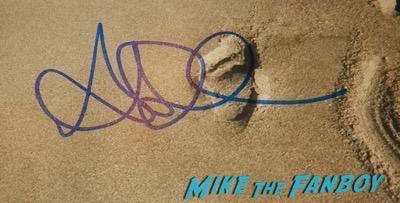 Alycia Debnam-Carey signed autograph fear the walking dead poster