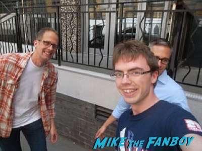 Pete Docter signing autographs fan photo 7