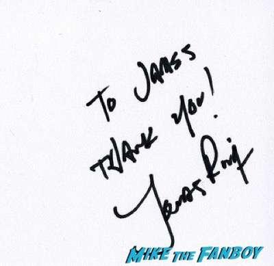 Jonas Rivera signing autographs fan photo 4